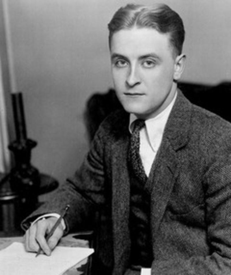 Photo of F. Scott Fitzgerald