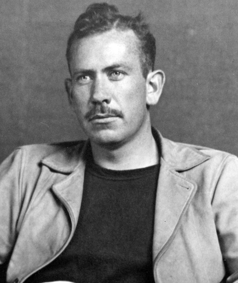 Photo of John Steinbeck