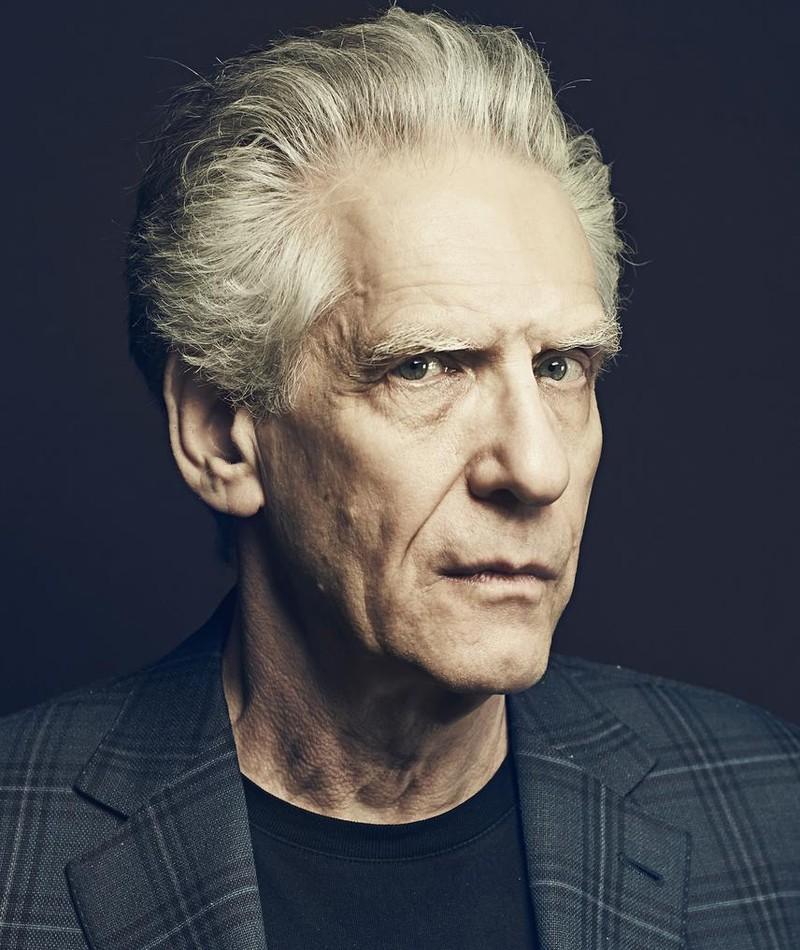 Photo of David Cronenberg