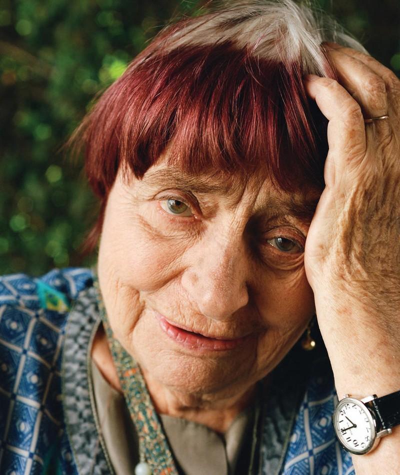 Photo of Agnès Varda