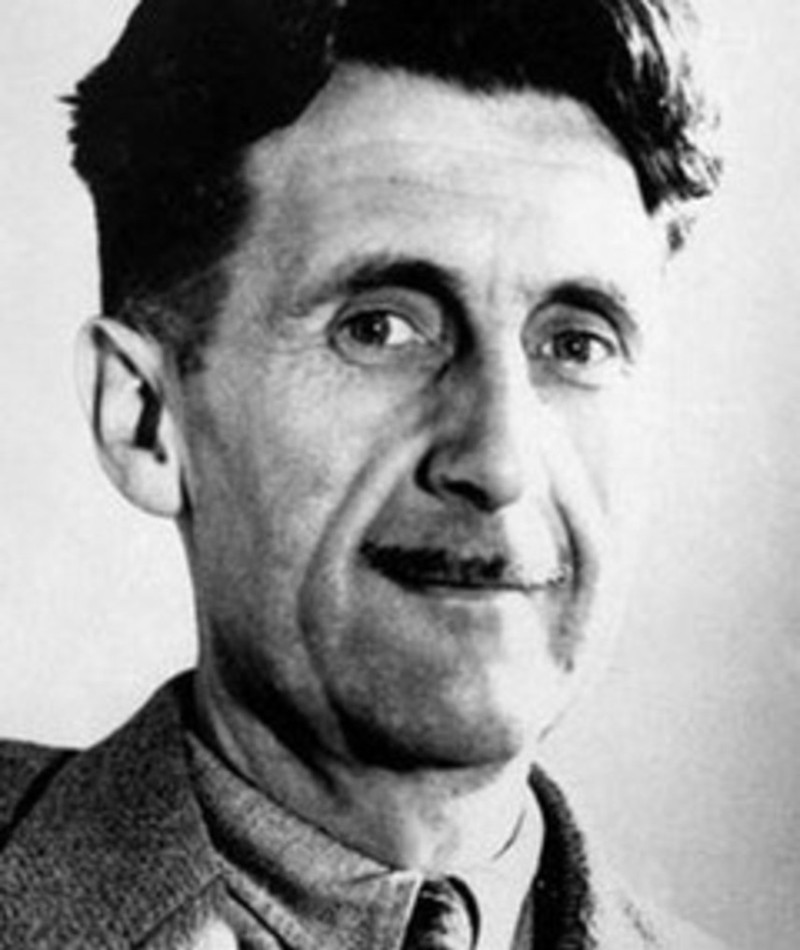 Foto di George Orwell