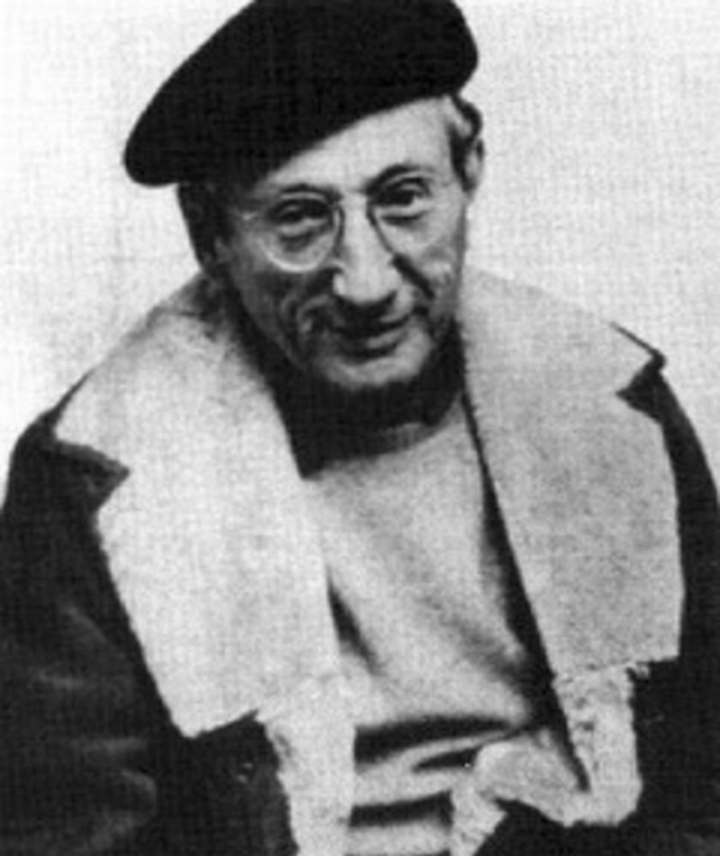Photo of Abraham Polonsky