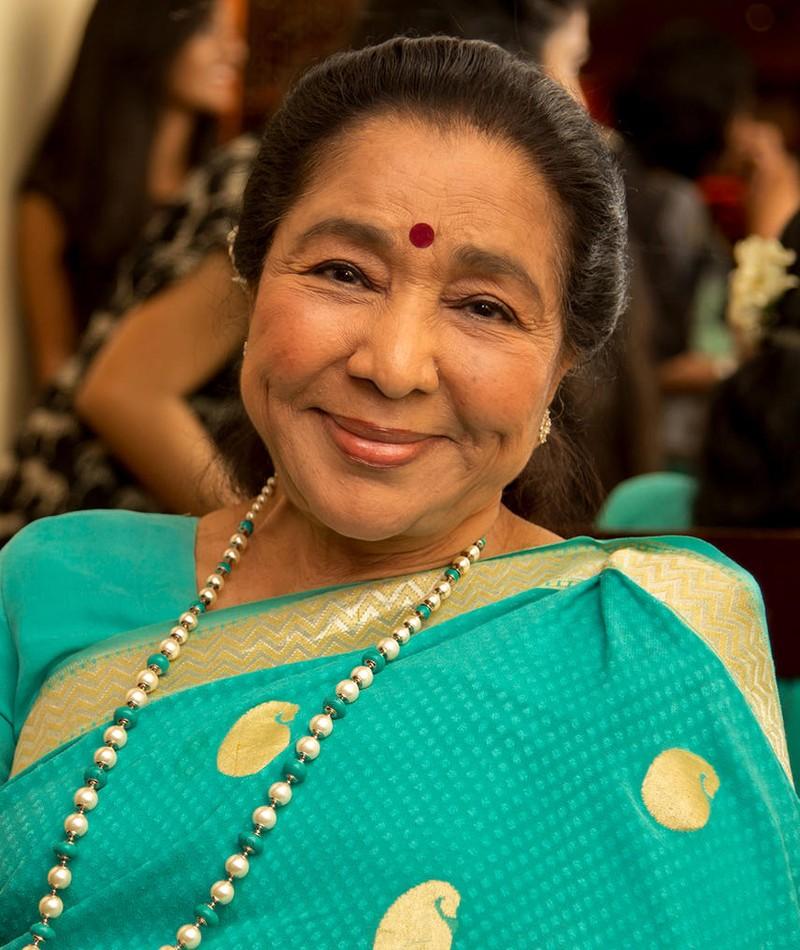 Photo of Asha Bhosle