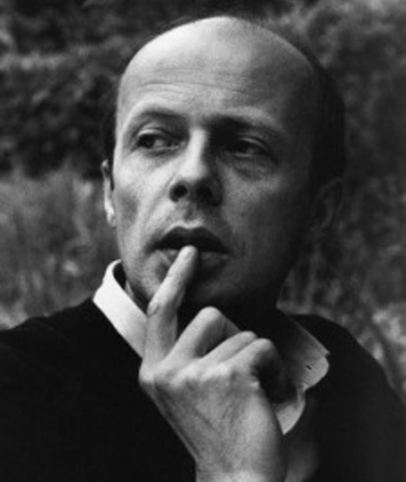 Photo of Patrick Süskind