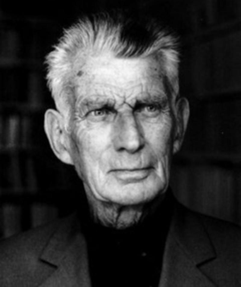 Photo of Samuel Beckett
