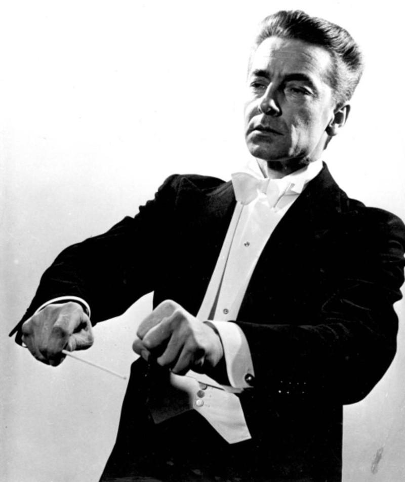 Photo of Herbert von Karajan