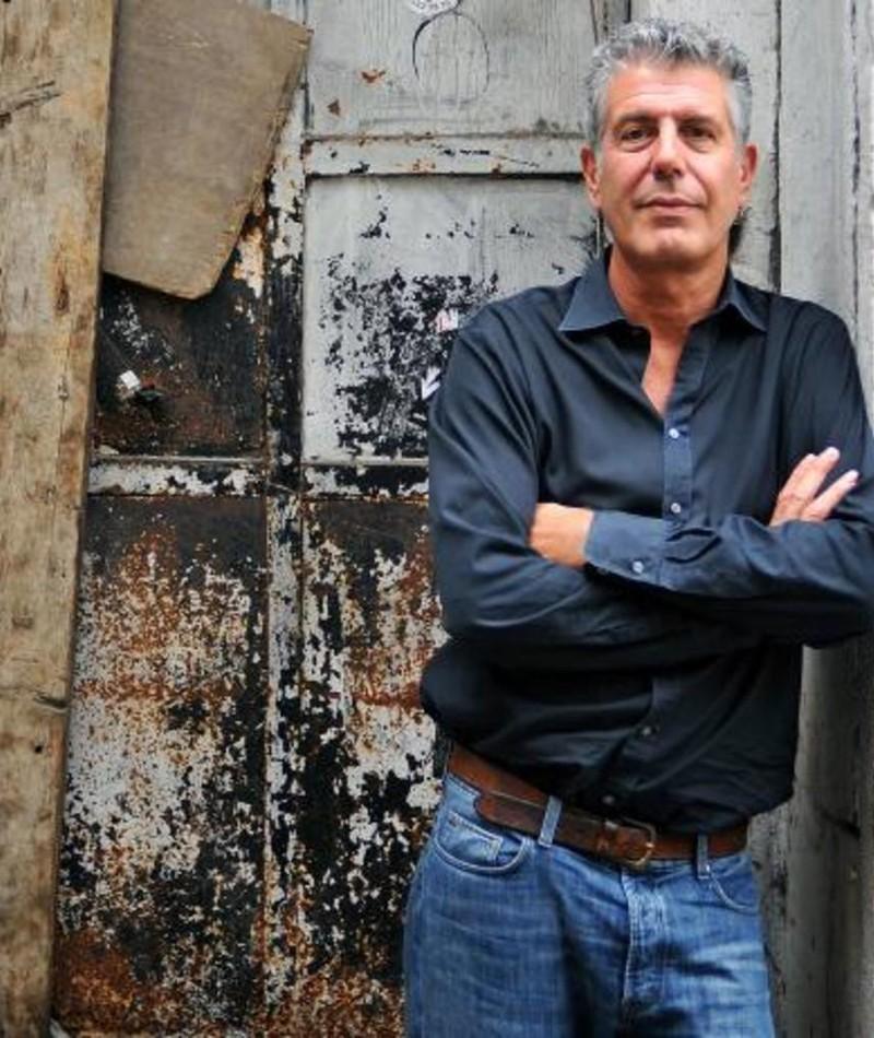 Photo of Anthony Bourdain