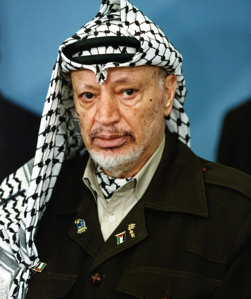 Foto von Yasser Arafat