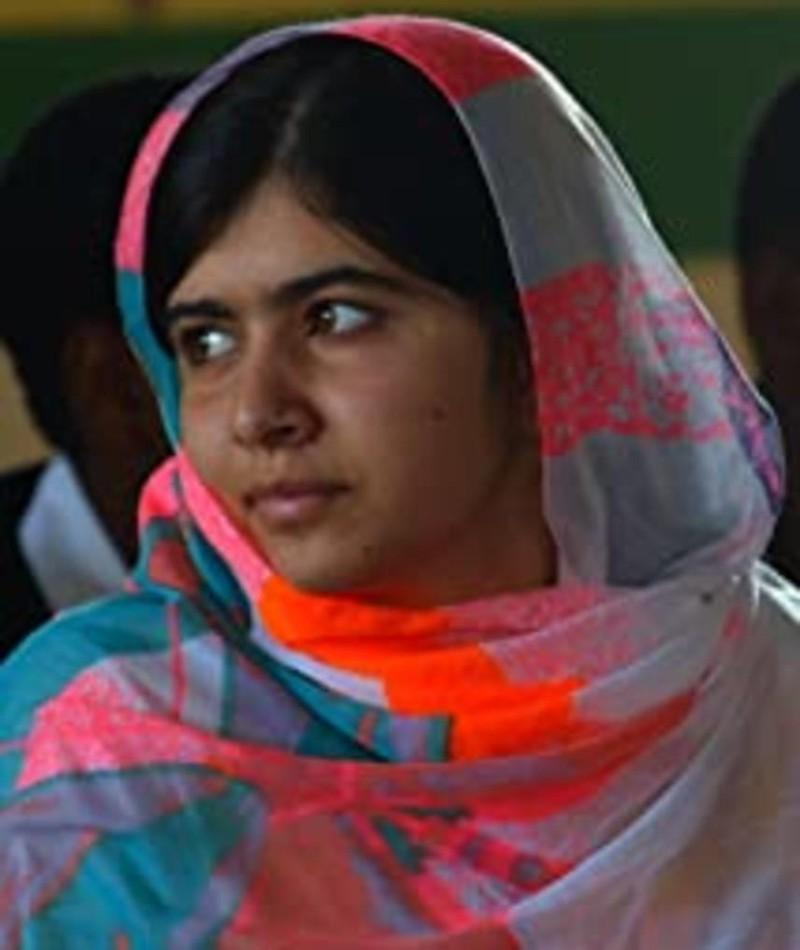 Foto de Malala Yousafzai