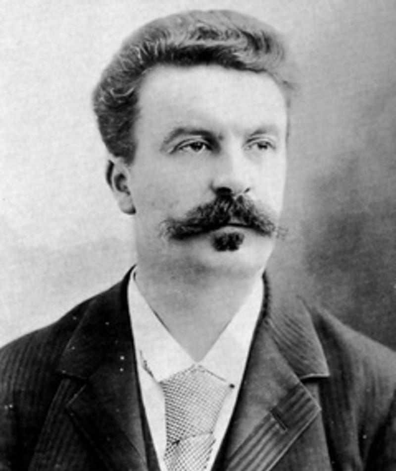Photo of Guy de Maupassant