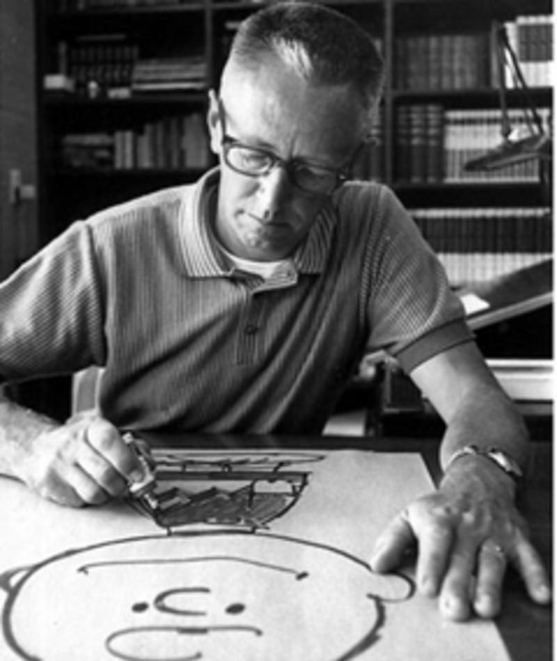 Photo of Charles M. Schulz