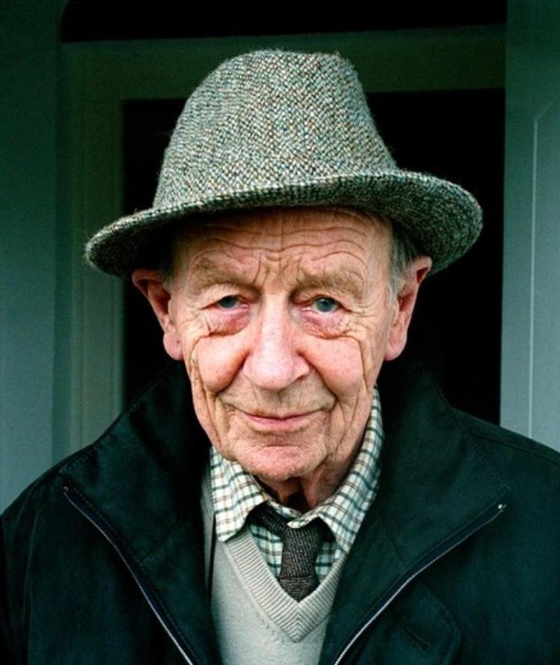 William Trevor fotoğrafı