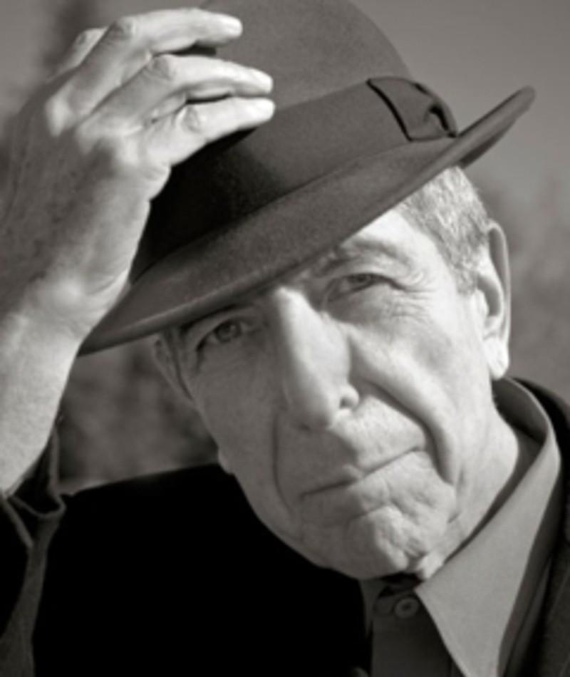 Foto di Leonard Cohen