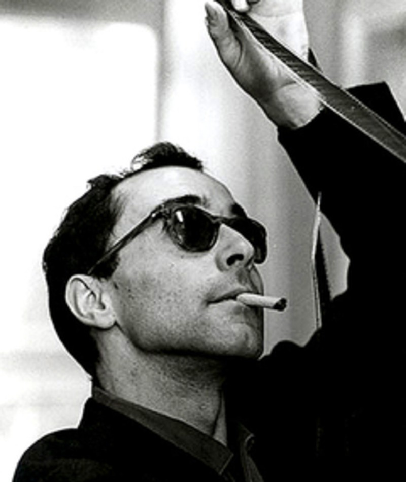 Photo of Jean-Luc Godard