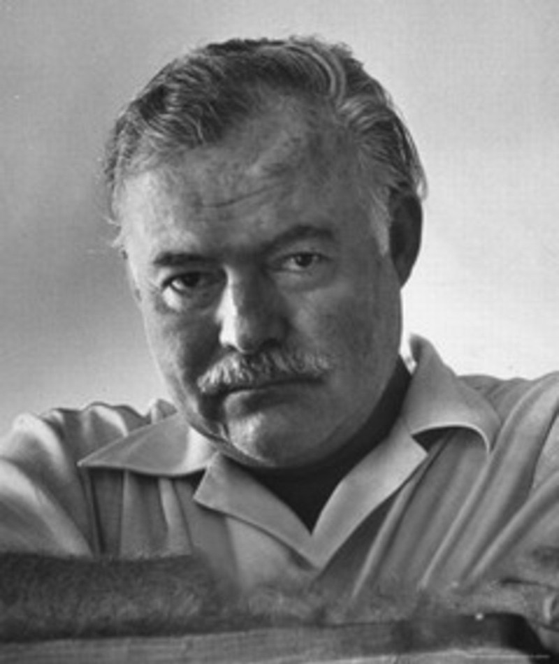 Photo of Ernest Hemingway
