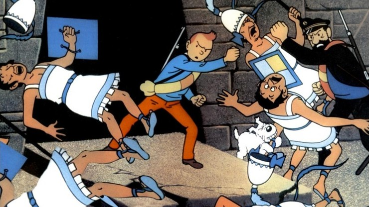 Tintin and the Temple of the Sun