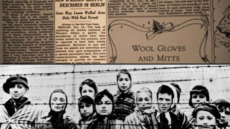 Reporting on The Times: The New York Times and The Holocaust