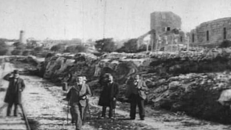 Départ de Jérusalem en chemin de fer