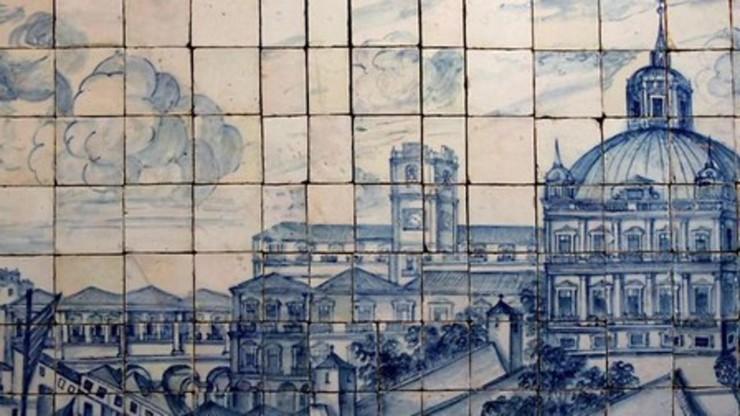 Azulejo or visual illusion