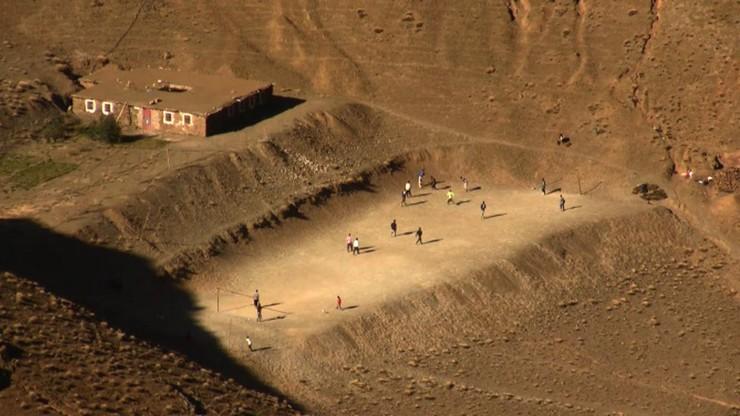 Distance –Landscape, Football Field