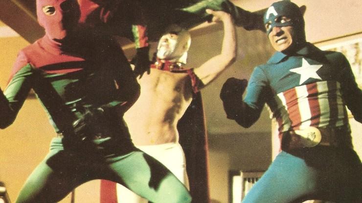 Captain America and Santo vs. Spider-Man | Three Giant Men