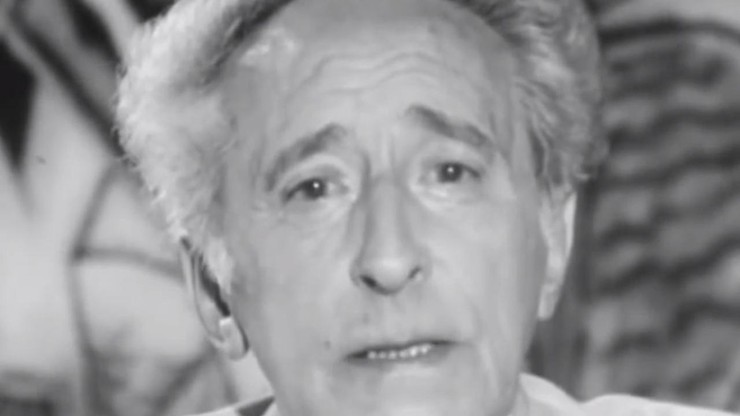 Jean Cocteau Speaks to the Year 2000