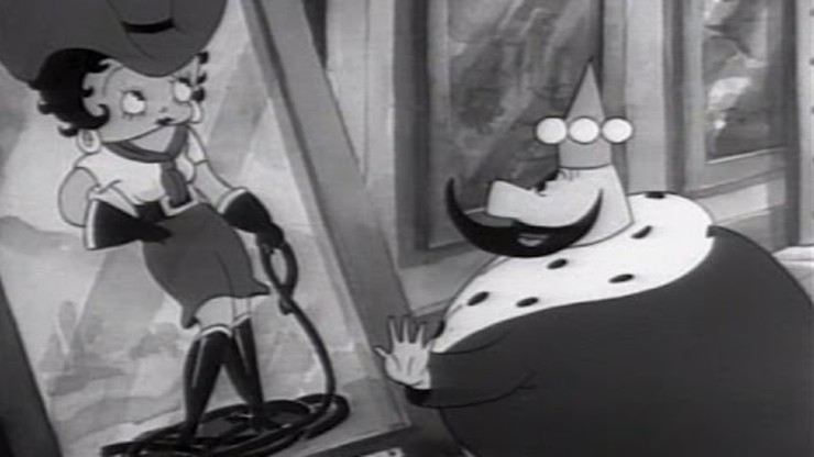 Betty Boop and the Little King
