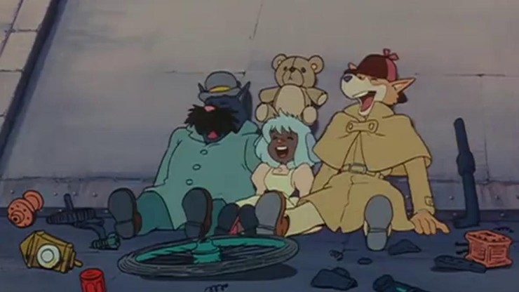 Sherlock Hound : The Adventure of the Blue Carbuncle / Treasure Under the Sea