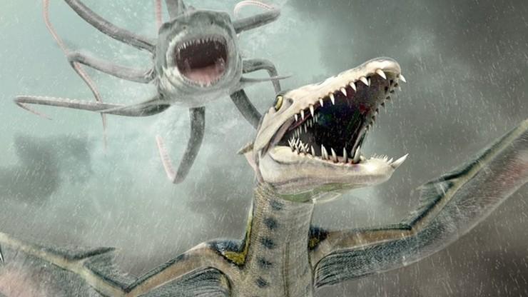 Sharktopus vs Pteracuda - Kampf der Urzeitgiganten | Sharktopus 2: Rette sich wer kann