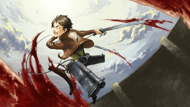 Attack on Titan Crimson Bow and Arrow