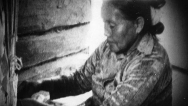A Navajo Weaver