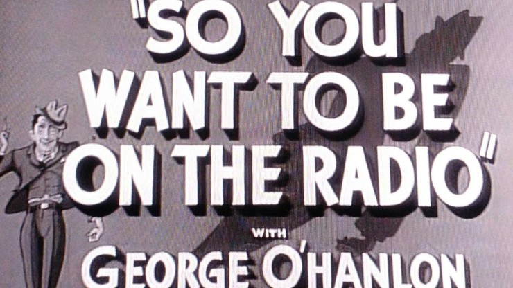 So You Want to Be on the Radio