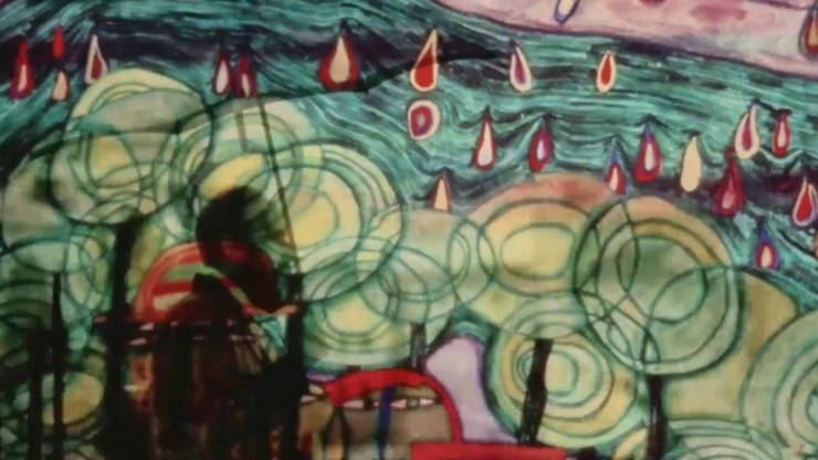 Hundertwassers Regentag