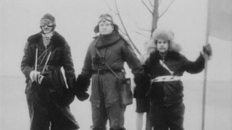 Comrade Chkalov Crosses the North Pole