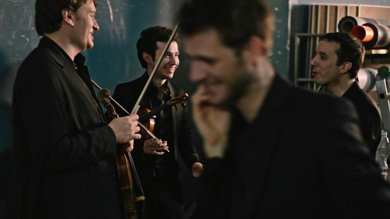 Quatour Ebène - 4 - The Film
