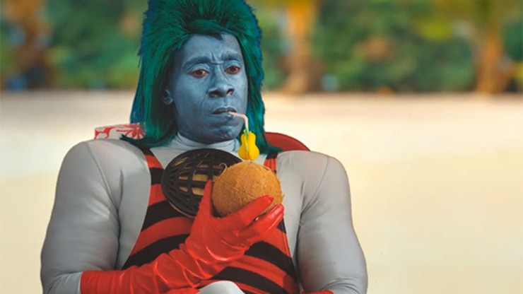 Don Cheadle is Captain Planet 3