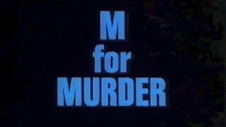 Dial M For Murder: Frame
