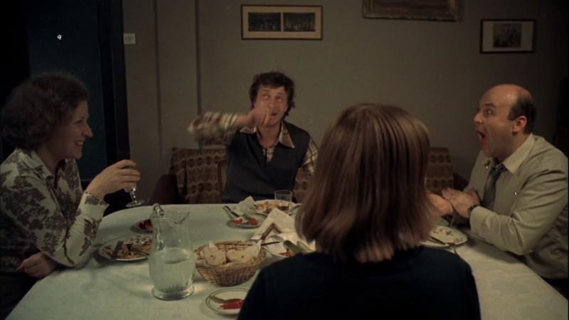 Snapshot around the family table