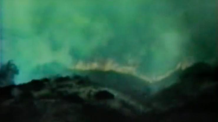 Pine Canyon Is Burning