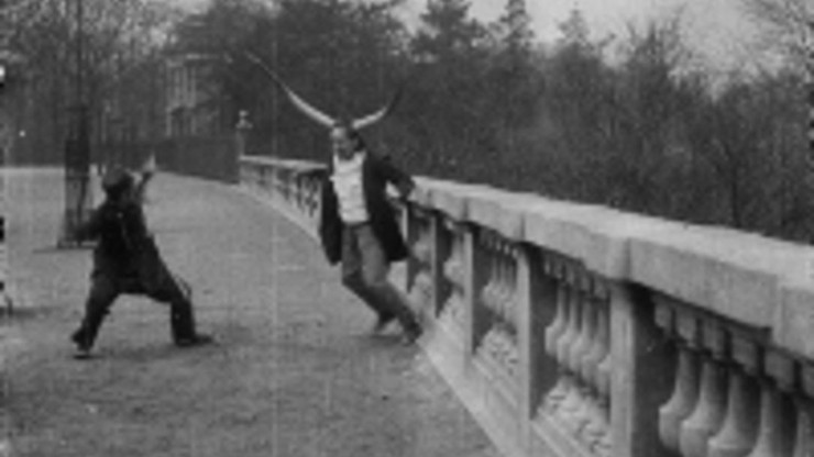 Man-Bull Fight