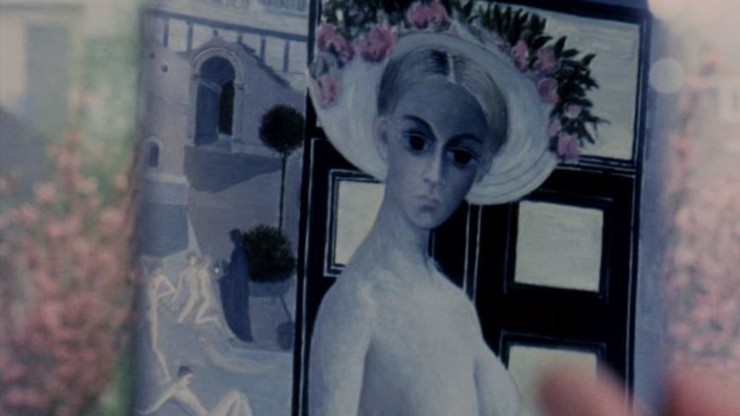 Paul Delvaux or the Forbidden Women