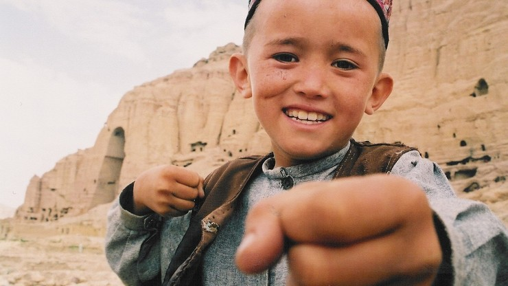 The Boy Who Plays on the Buddhas of Bamiyan