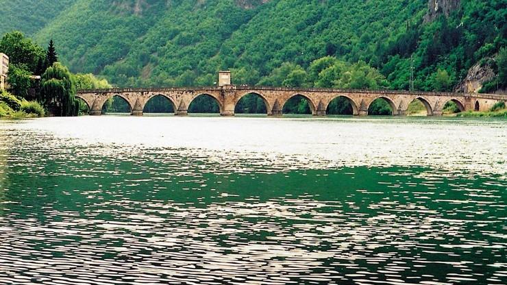 Un pont sur la Drina