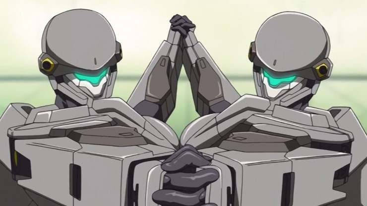 FULL METAL PANIC! The Second Raid: A Relatively Leisurely Day in the Life of a Fleet Captain