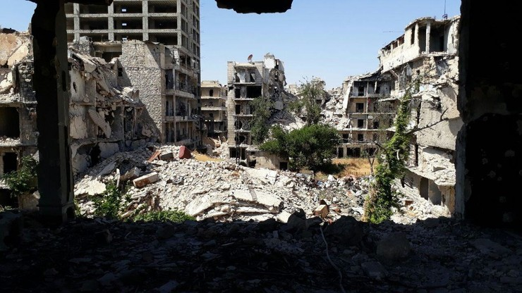 Aleppo: The Silence of the War