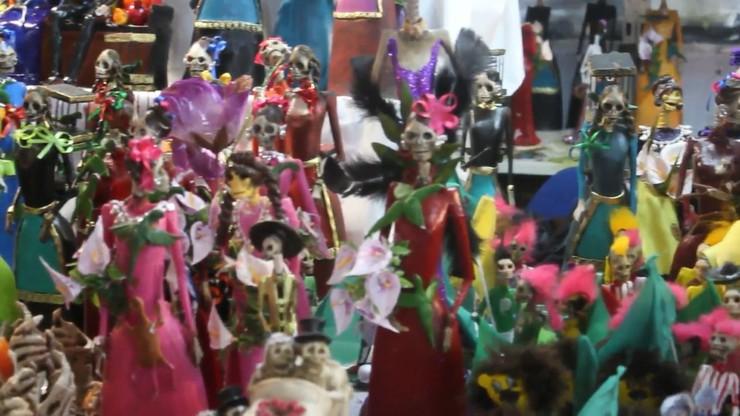 Aromas, sabores y colores del Día de Muertos