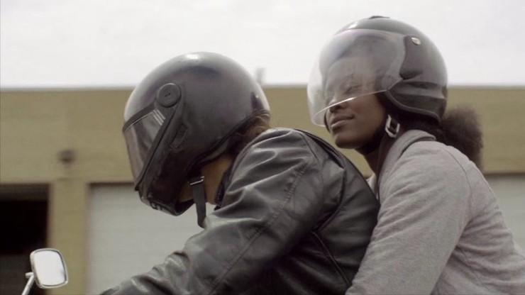 Avec Jeff, à moto