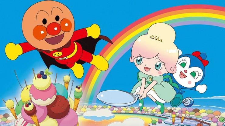 Let's Go! Anpanman: Sparkle! Princess Vanilla of the Land of Ice Cream