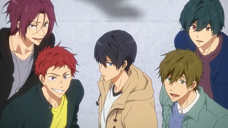Free! Road to the World: The Dream