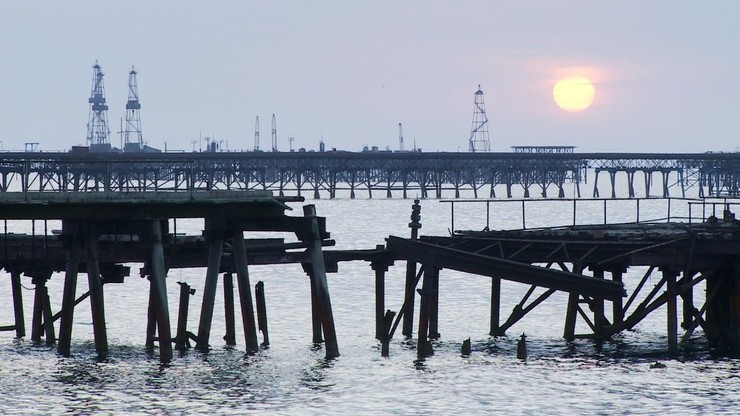 Oil Rocks: City Above the Sea
